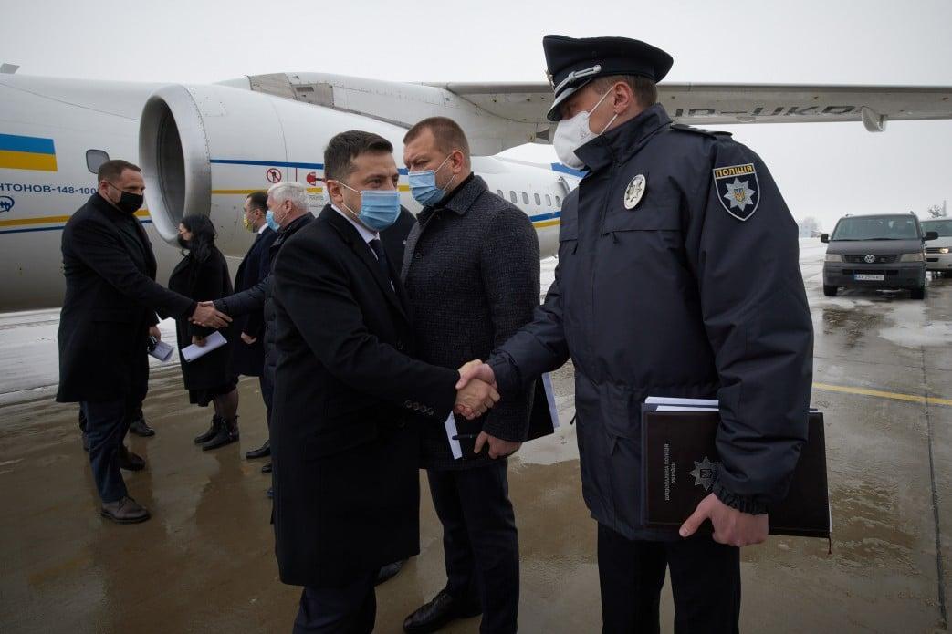 Зеленский прибыл в Харьков в связи с трагедией в доме для пожилых людей / фото facebook.com/president.gov.ua
