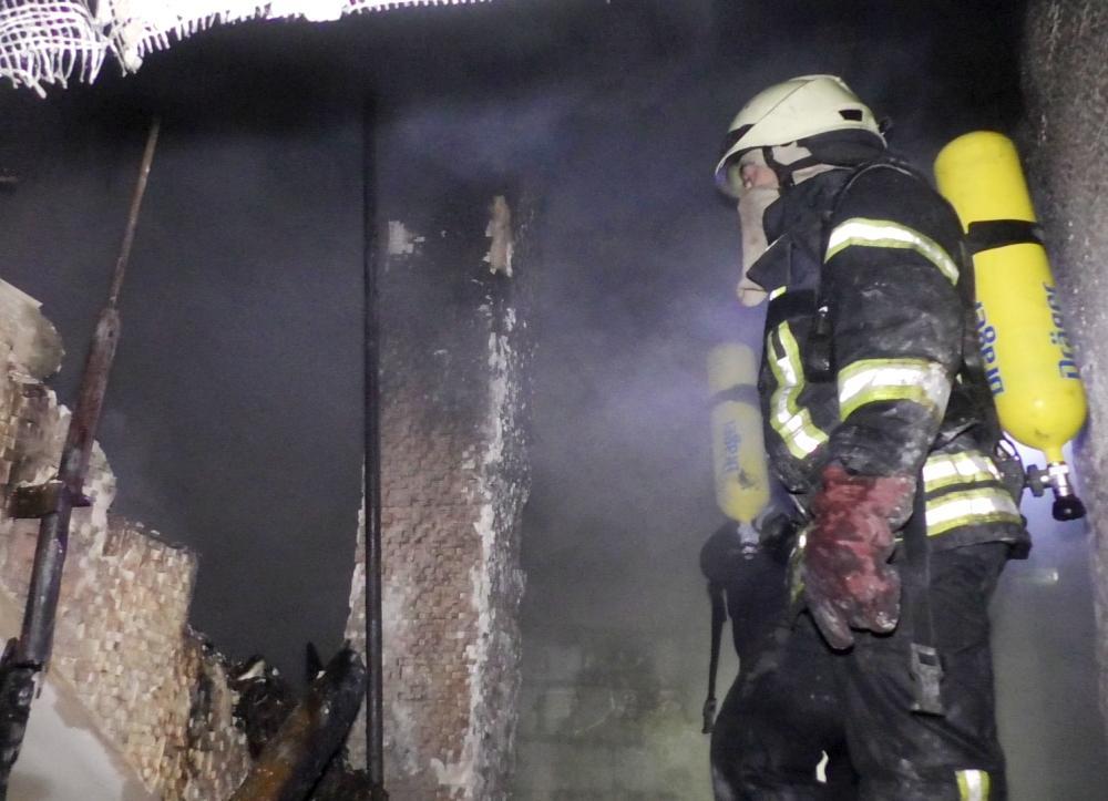 21 січня у Харкові у будинкудля літніх людей при пожежізагинуло 15 осіб \фото ДСНС