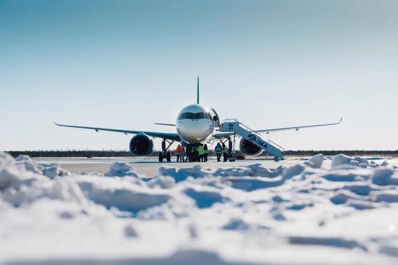Найбільший китайський авіалайнер пройшов випробування сильними морозами / фото COMAC