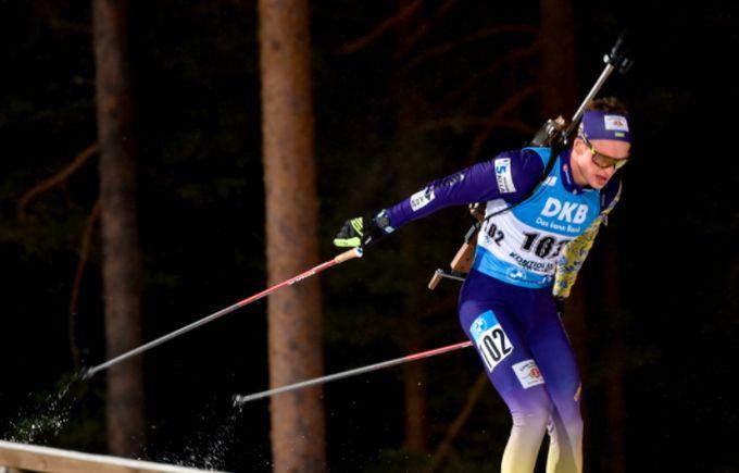 Антон Дудченко - вперше в топ-5 гонки на Кубку світу / фото biathlon.com.ua