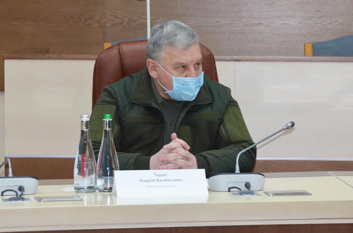 Нынешний глава Минобороны Андрей Таран / фото: mil.gov.ua