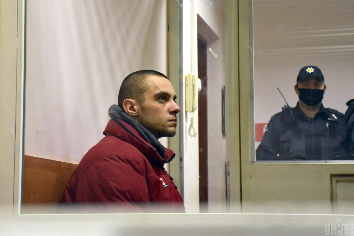 Подозреваемый Дмитрий Пономаренко / фото УНИАН, Гиманов Александр