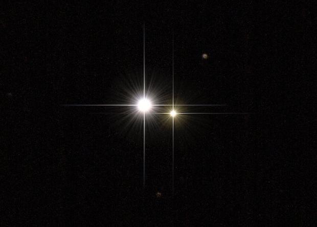 Изображение системы Кастор, это близкий аналог системы TIC 168789840, она тоже состоит из шести звезд / фото flickr.com/1cm69