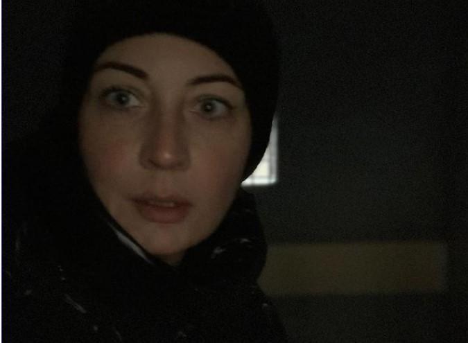 Юлія виставила фотографію з автозаку / фото Юлія Навальна / Instagram