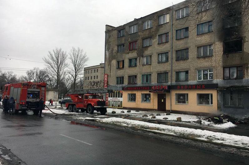 Внаслідок пожежі постраждало 3 осіб / фото dp.dsns.gov.ua