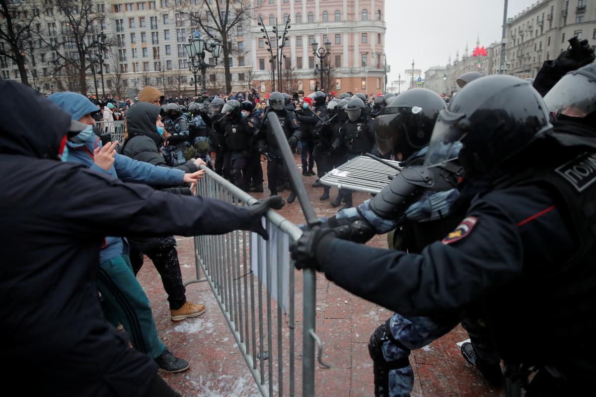 В Росси проходят митинги в поддержку Навального / фото REUTERS