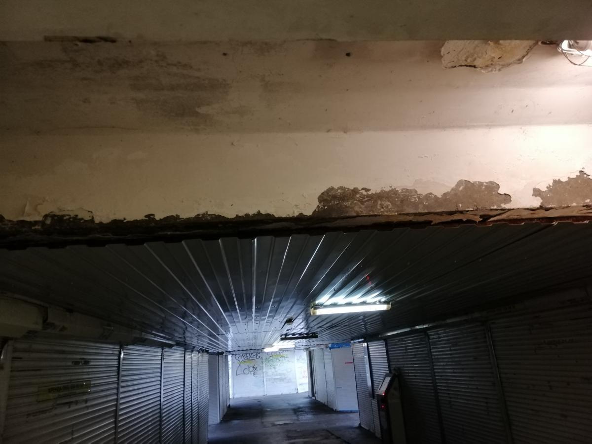 Подземный переход на Подоле / фото facebook.com/klimetin