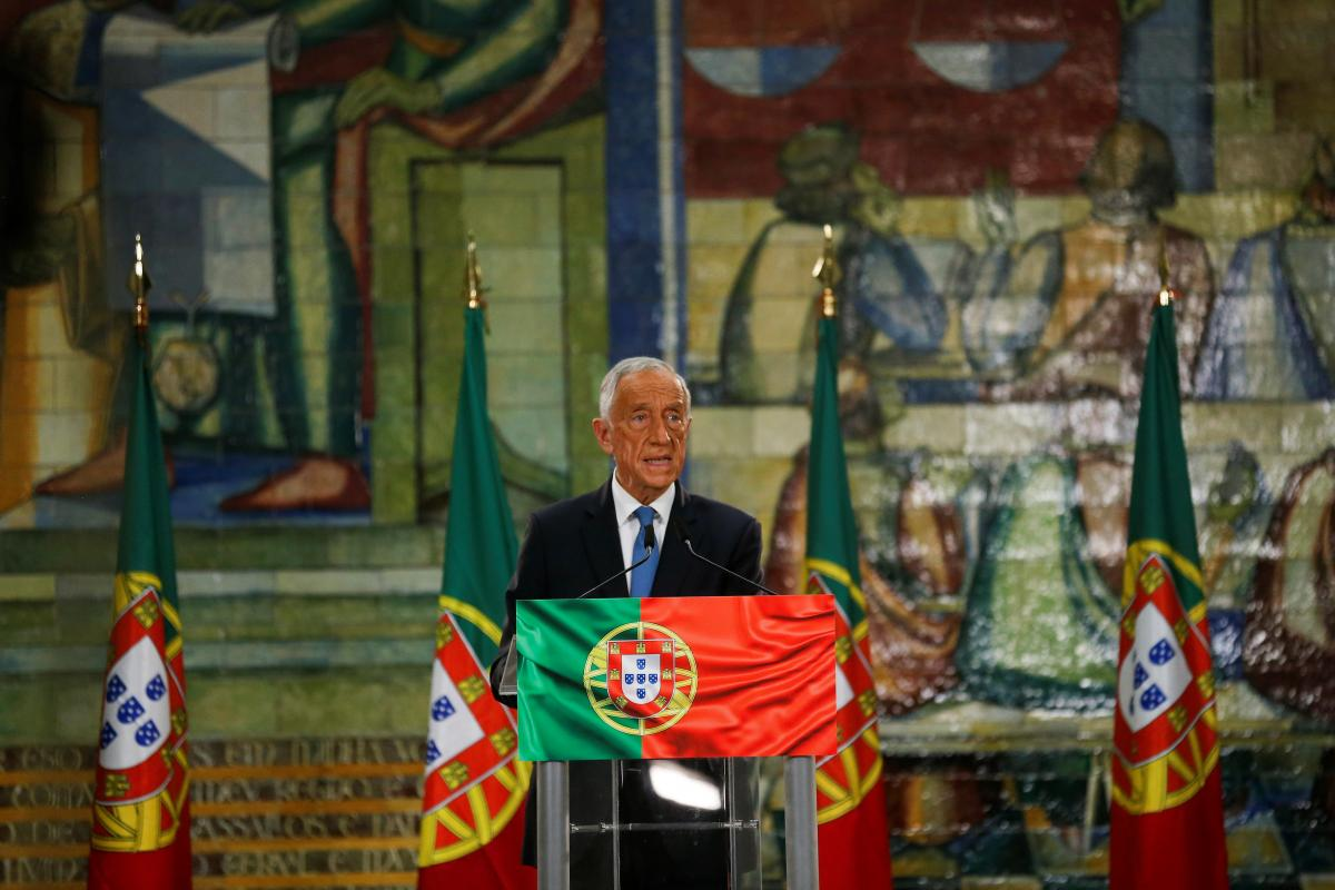 В Португалии переизбрали президента \ фото REUTERS