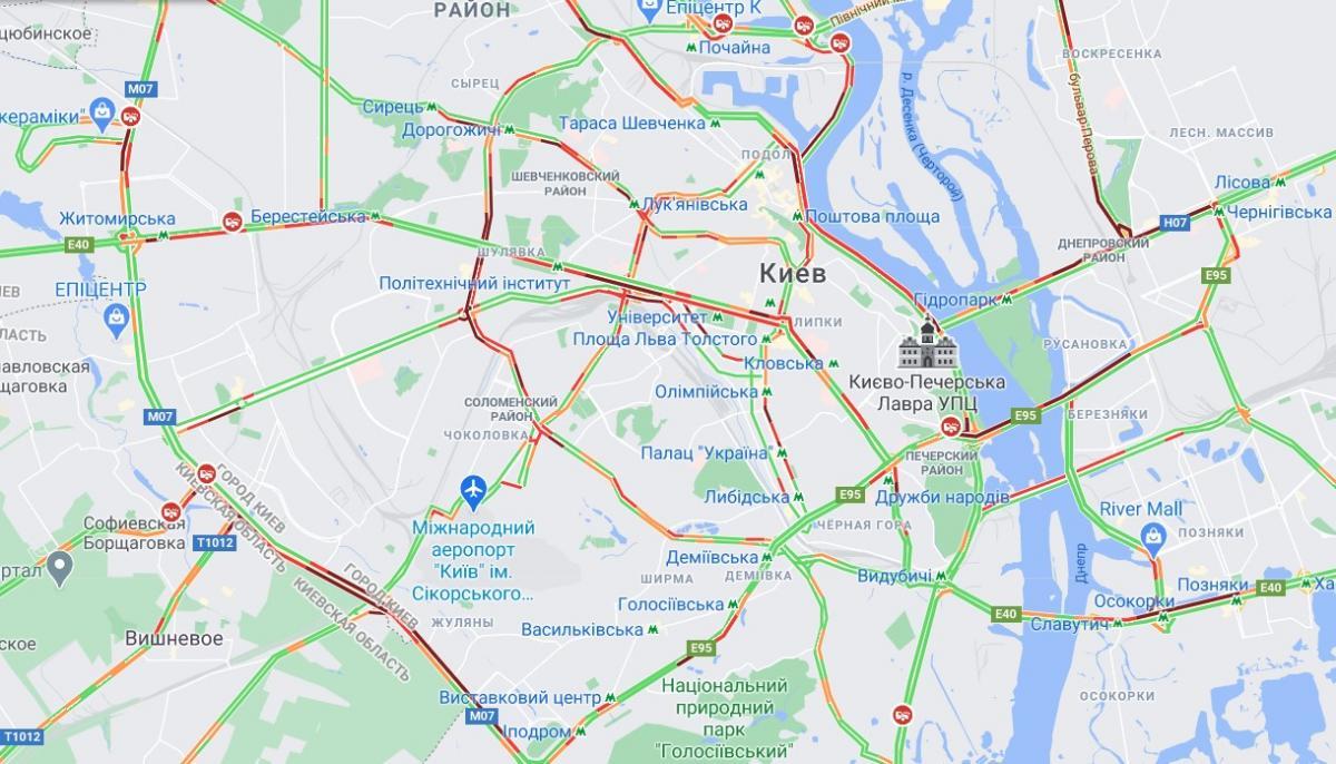 скріншот Google-карта