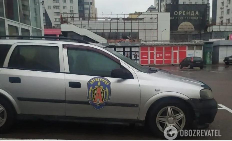 В Киеве нашли странный автомобиль / Obozrevatel