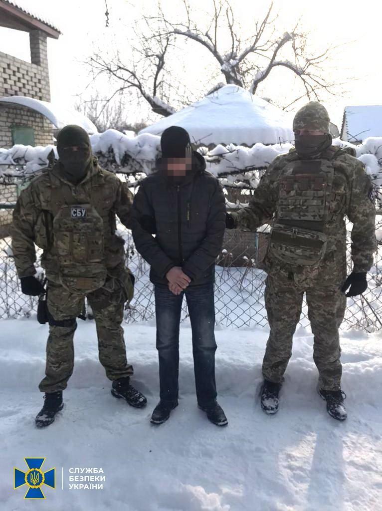 """Правоохоронці затримали бойовика """"ЛНР""""/ СБУ"""