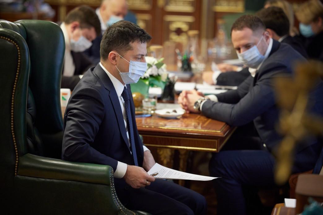 Зеленский принял участие в совещании по противодействию эпидемии / president.gov.ua
