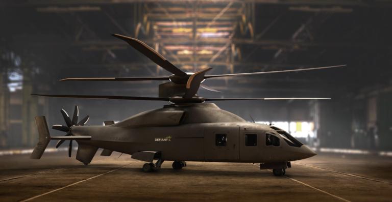 Перепроектований вертоліт Defiant-X отримав нове шасі / фото Sikorsky / Boeing