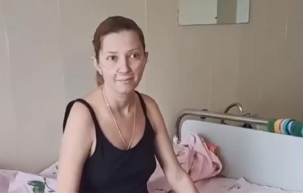 39-летнюю роженицу с коронавирусом спасли в Днепре / скриншот