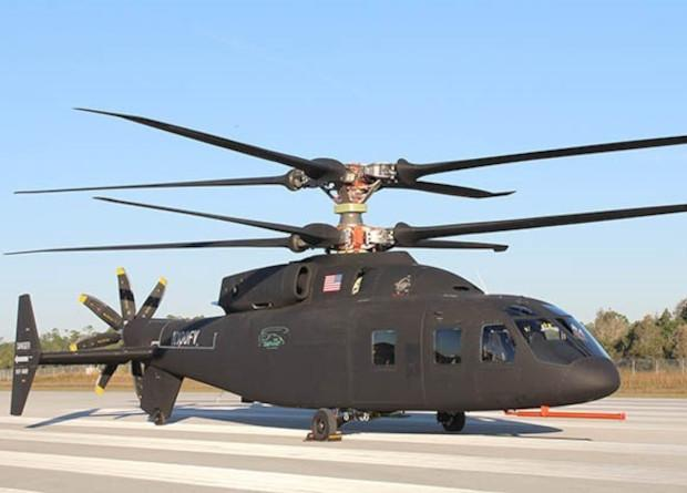 Колишня версія вертольота SB>1 Defiant / фото Sikorsky / Boeing