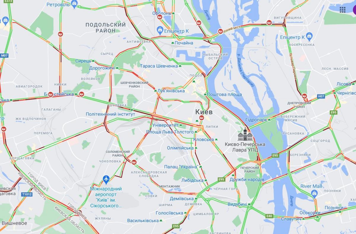 скриншот Google-карта