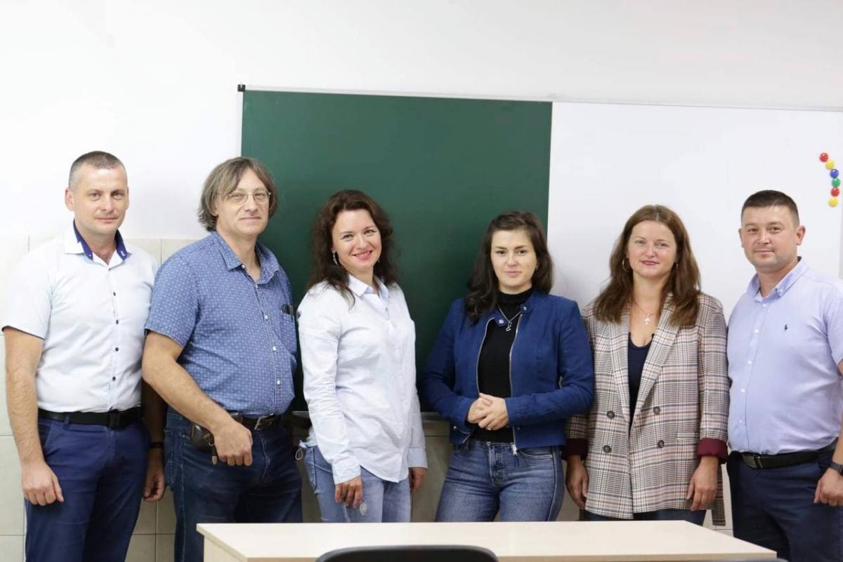 Команда дослідників УжНУ Фото Я. Гасинець