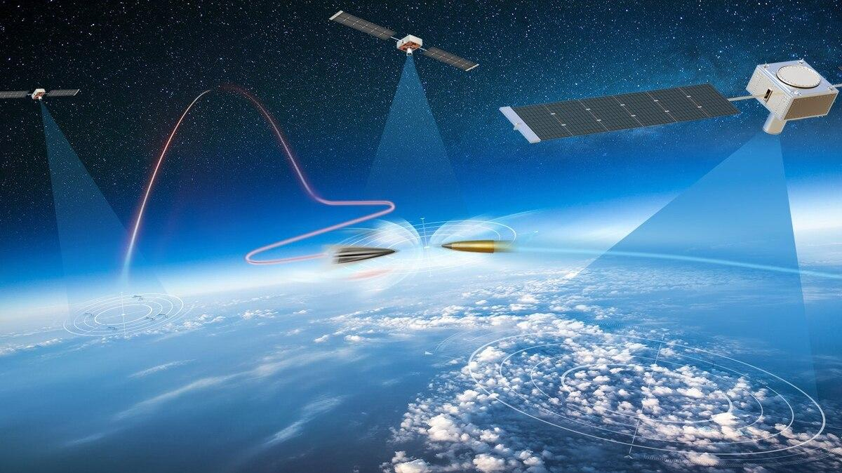Проект HBTSS предполагает создание группировки из нескольких десятков спутников / фото Northrop Grumman