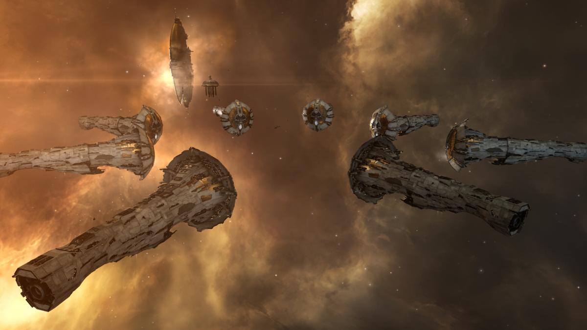 Титаны в EVE Online / скриншот