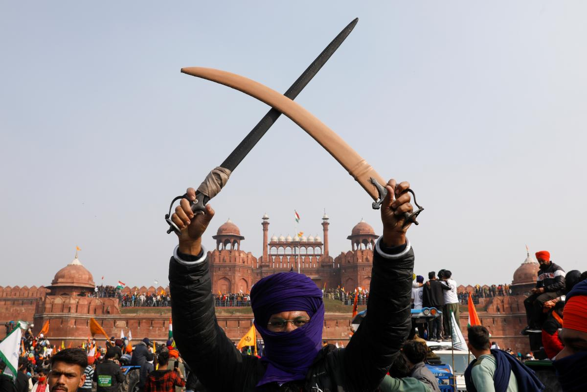 Индию всколыхнули протесты / фото REUTERS