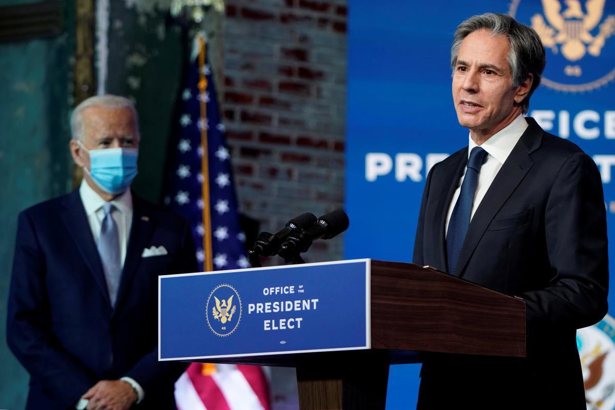 Ентоні Блінкен - Сенат підтримав кандидатуру Блінкена на пост держсекретаря США / REUTERS