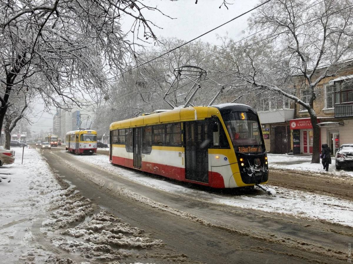 В Одессе еще не восстановилось движение всех трамваев / Фото Dumskaya.net