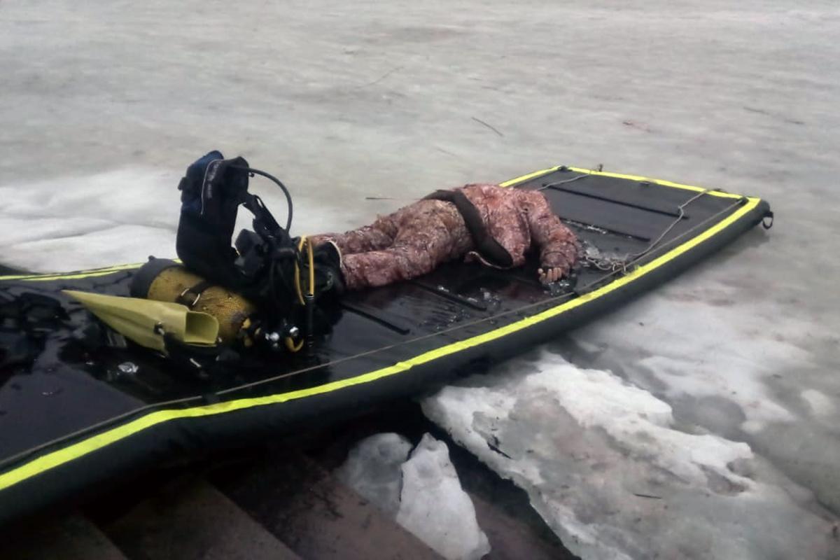 На Днепропетровщине утонул рыбак / фото dp.dsns.gov.ua