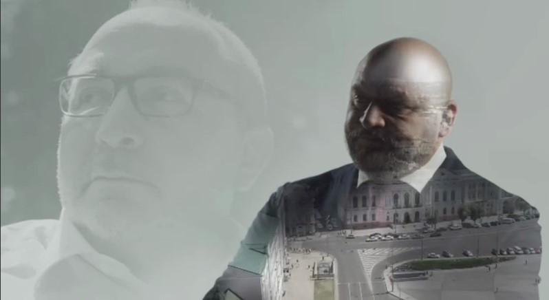 Добкін скомпілював фото і відео покійного Кернеса і вставив у свій ролик / скріншот з відео