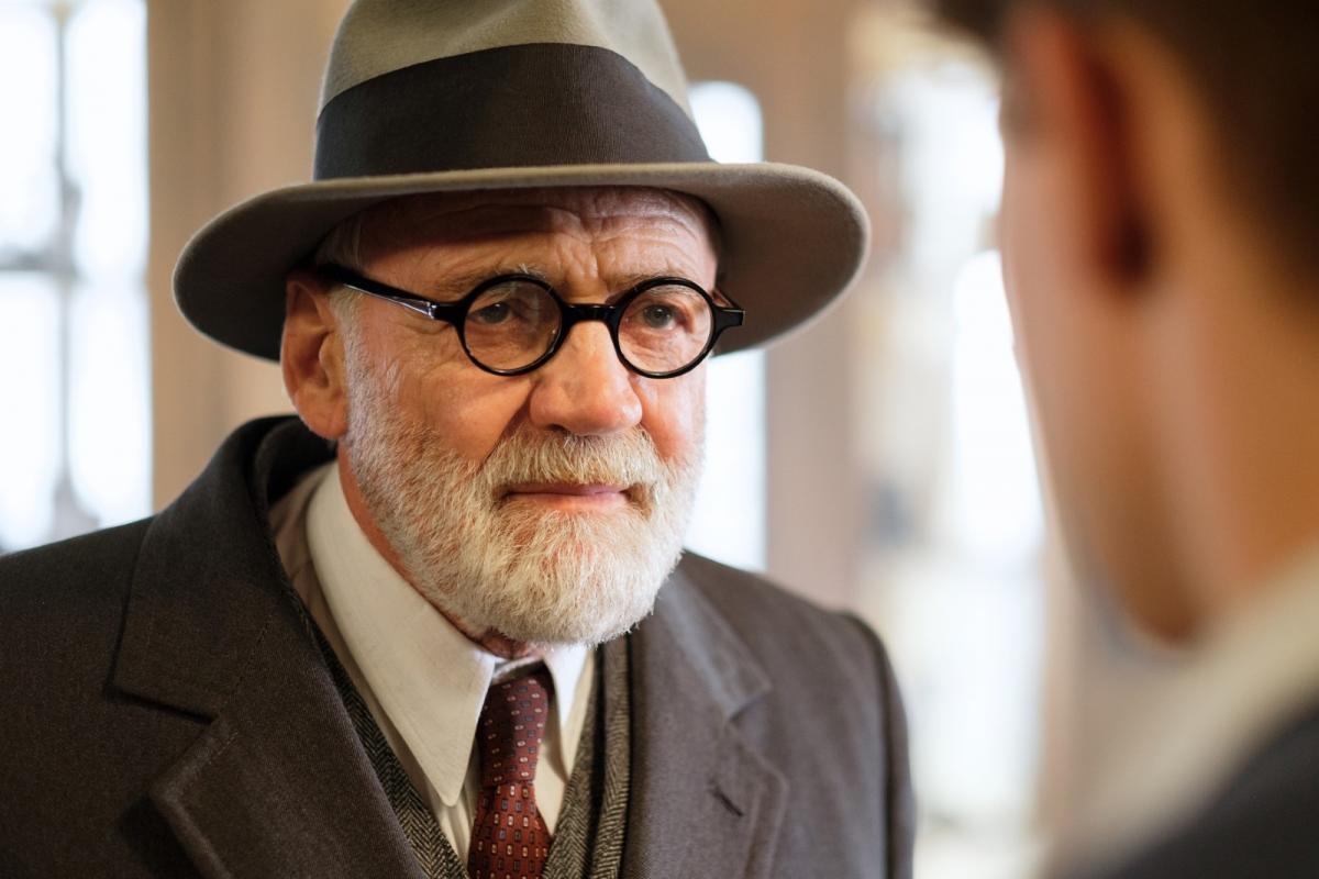 Роль Зигмунда Фрейда исполнил Бруно Ганц / кадр из фильма «Мой друг Зигмунд Фрейд»