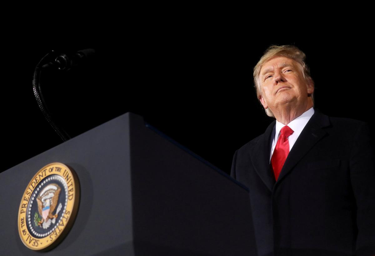 Трамп натякнув на намір знову балотуватися в президенти \ фото REUTERS