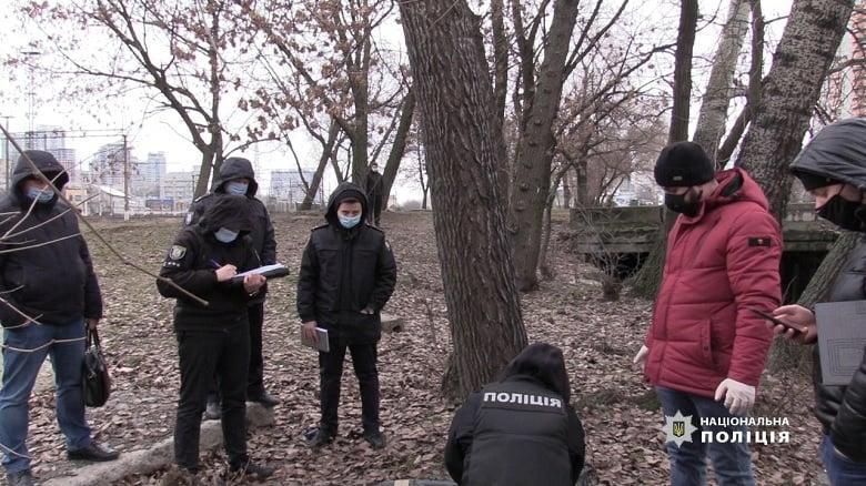 Полиция расследует данный факт как умышленное убийство / фото полиция Киева