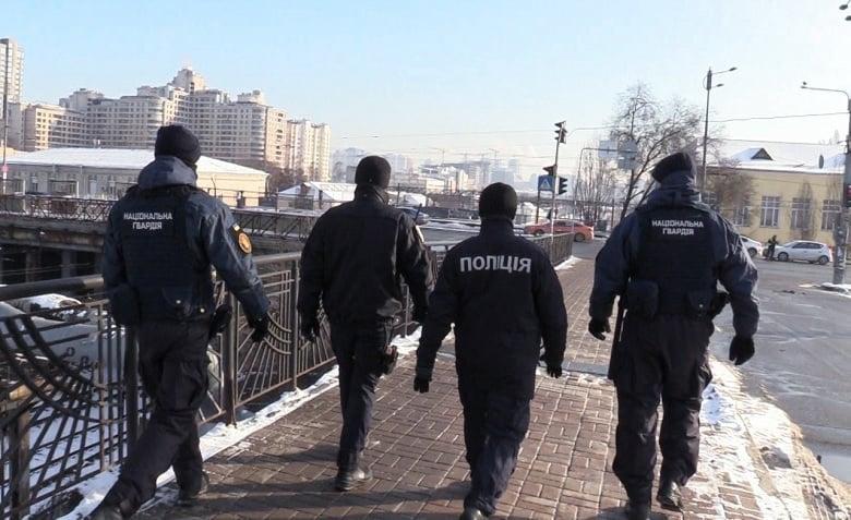 фото полиция Киева