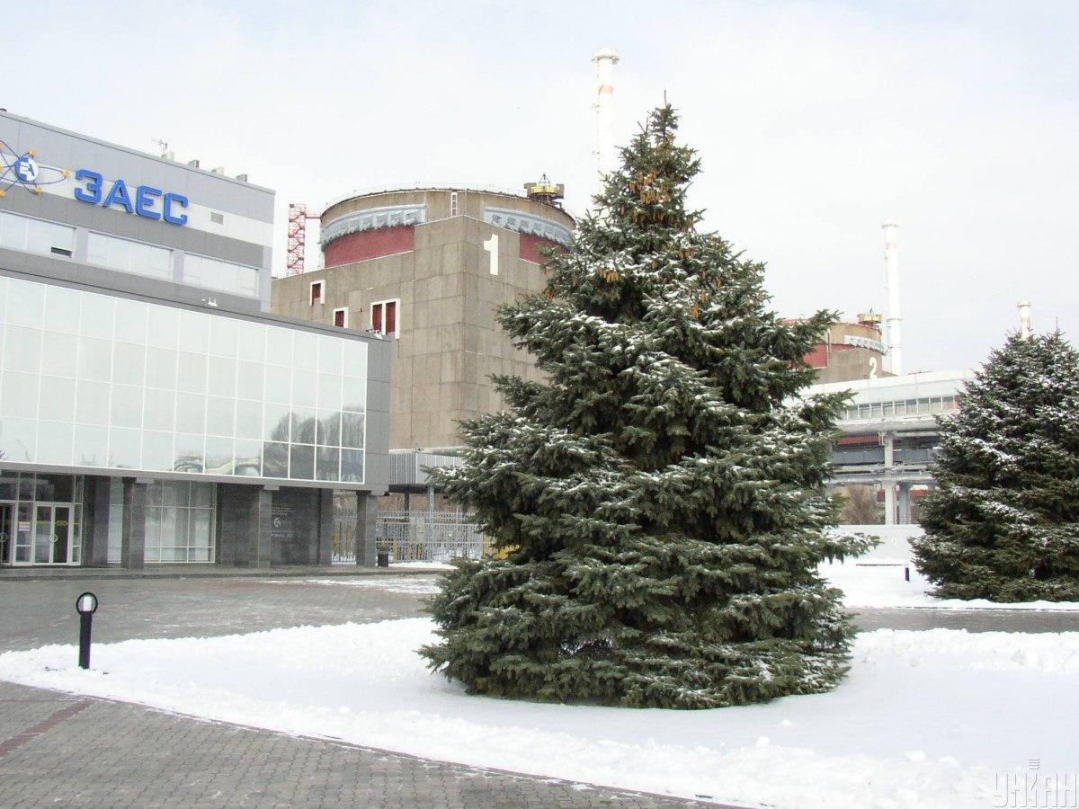 Запорожская АЭС в дни резкого похолодания работала всеми шестью блоками / фото УНИАН