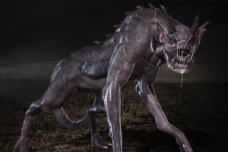 Невідома тварина нападає вночі, а потім ховається, не залишаючи слідів / ілюстрація Robert Borashan