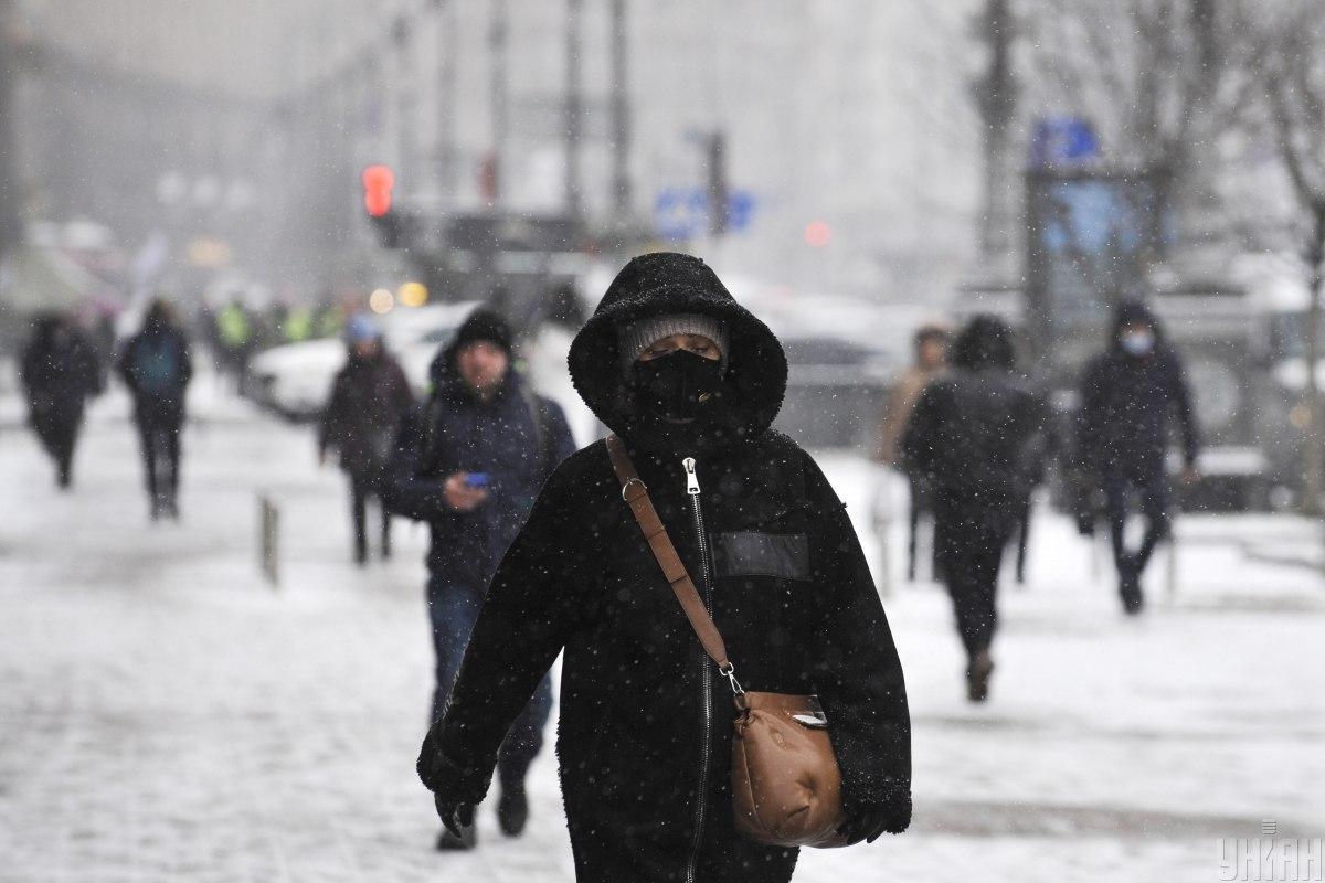 Киев продолжит засыпать снегом / Фото УНИАН
