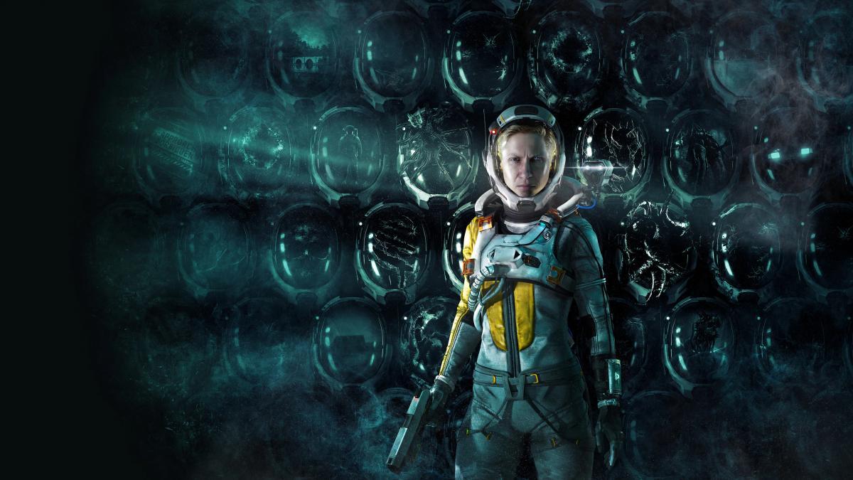Селена –головна героїня гри Returnal / фото Housemarque