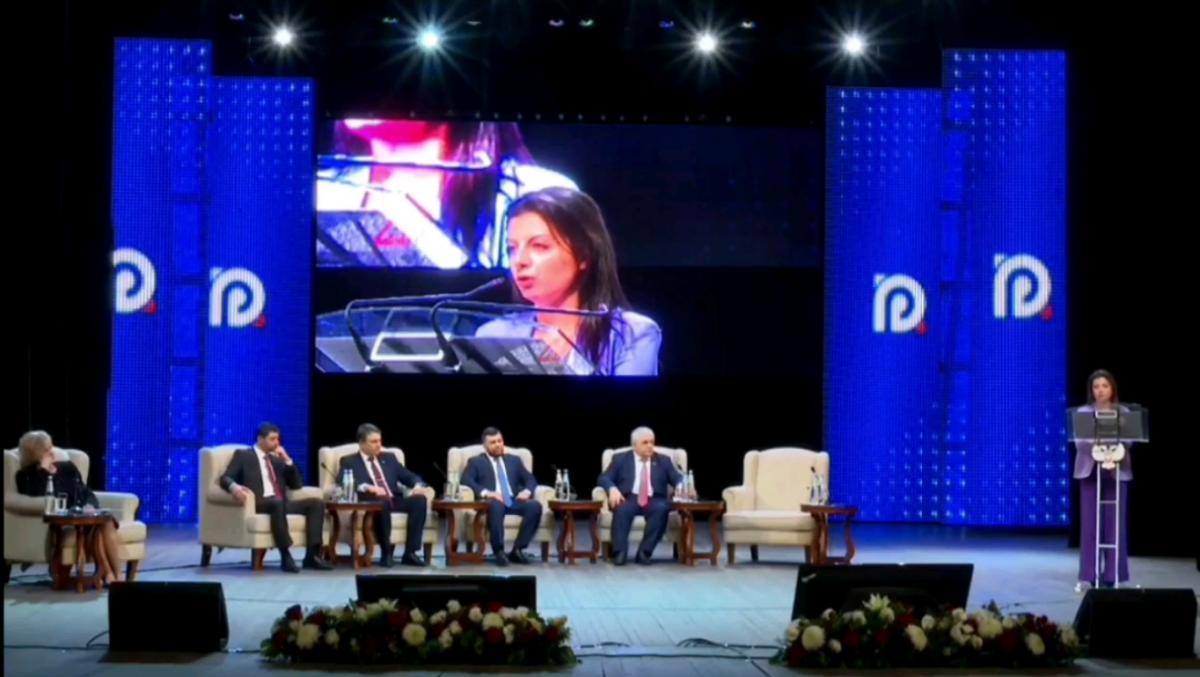 Форум Российский Донбасс - пропагандистка Симоньян публично призвала аннексировать Донбасс: видео / скриншот