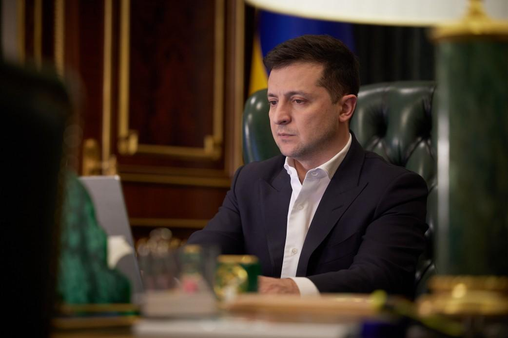 "Zelensky calls U.S. riots ""strong blow"" to democracy / Photo from president.gov.ua"