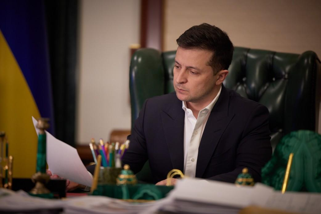 Zelensky tasked the ministry to notify the CIS Council on Aviation of Ukraine's decision / Photo from president.gov.ua