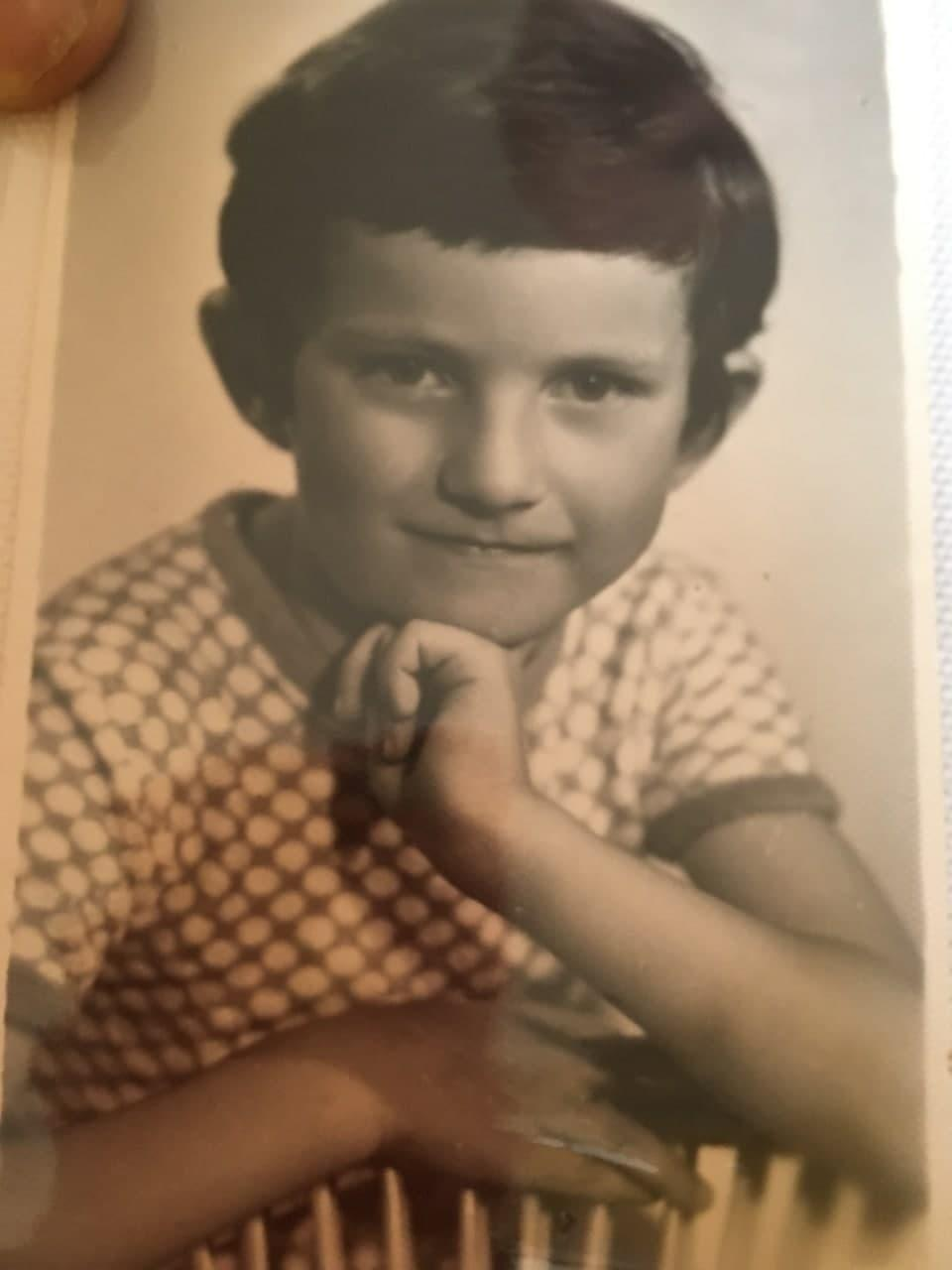 Андрій у дитинстві дивував знаннями англійської мови / фото з сімейного архіву