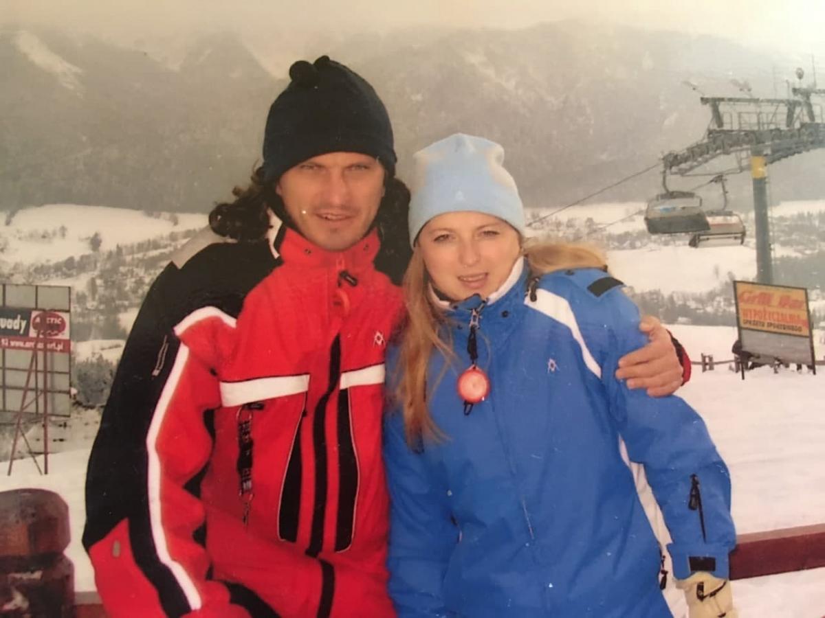 Кузьма з дружиною Світланою / фото з сімейного архіву