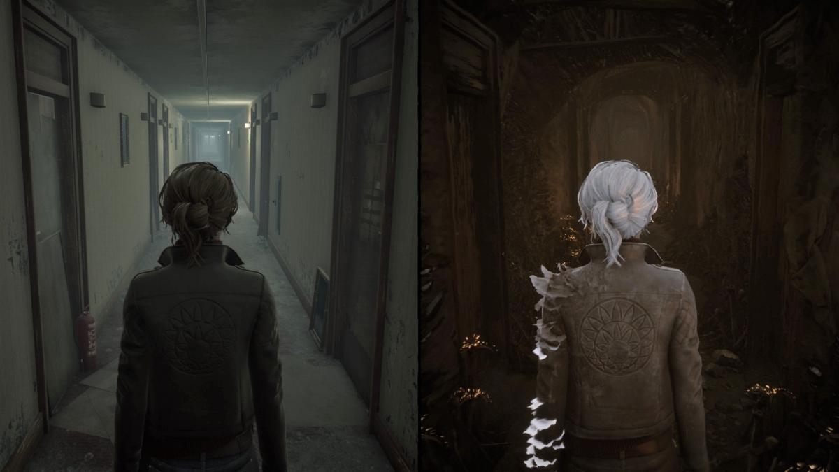 В игре нужно изучать два мира одновременно / скриншот