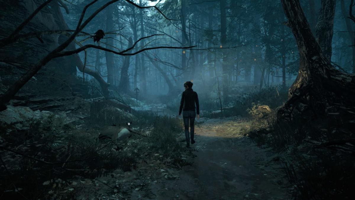 Лесные чащи в игре получились жуткими / скриншот