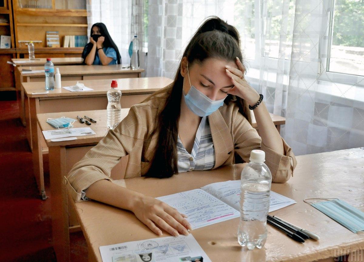 Регистрация на ВНО 2021 - сроки и условия / фото УНИАН, Андрей Мариенко