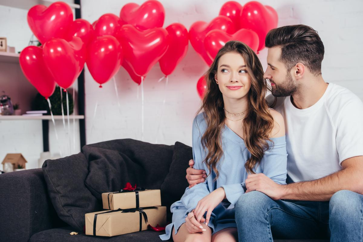 День святого Валентина - идеи подарков жене / фото ua.depositphotos.com