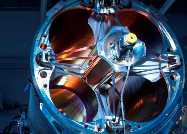Прототип немецкой лазерной установки мощностью 40 киловатт /  фото MBDA
