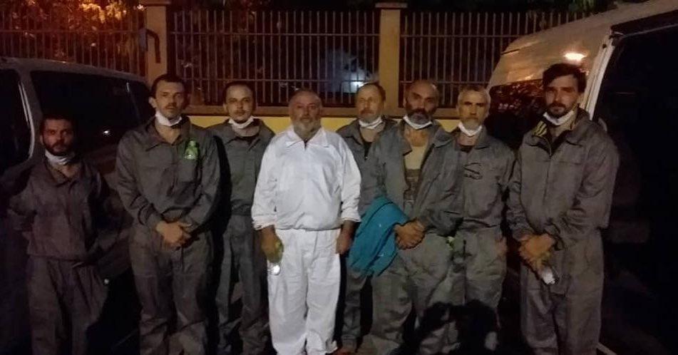 Сегодня было освобождено 6 украинских моряков – членов экипажа судна Stevia / фото instagram.com/zelenskiy_official/