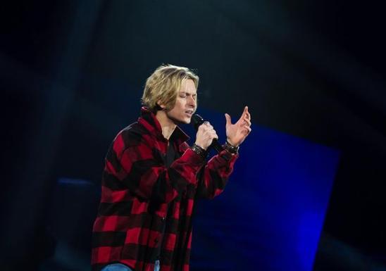 Богдан Муха - рок-виконавець / фото instagram.com/goloskrainy_official