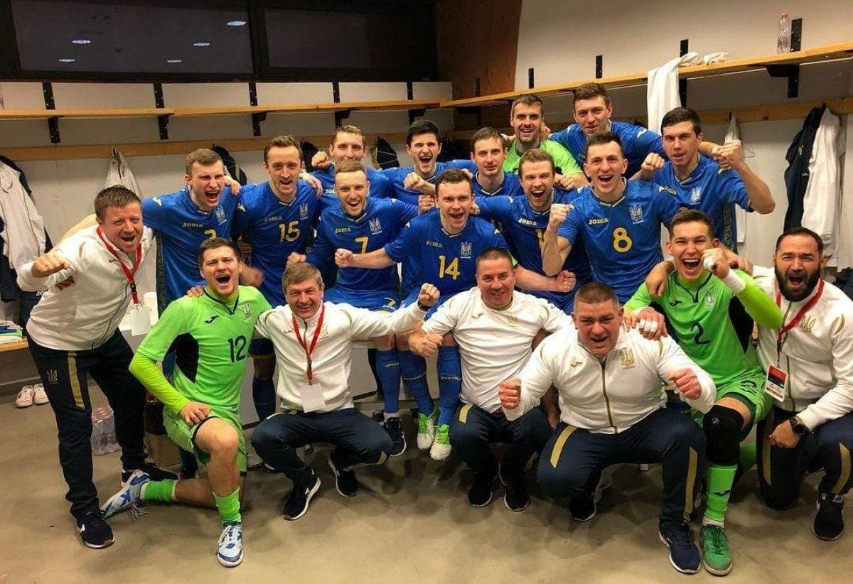 Албания Украина футзал — сборная Украины разгромила Албанию в