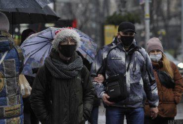 В Киев идет похолодание: температура днем упадет до +1°